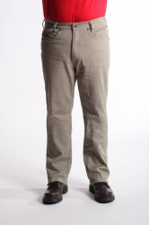 STOCK # 191 RIVER ROAD STRETCH KHAKI  TRADTIONAL FIT JEANS SIZE 32-54